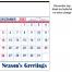 Contractor Memo Calendar, Patriotic
