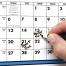 Span-A-Year (Laminated) Calendar