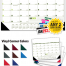 Multi-Colored Desk Pad Calendar, Top Ad