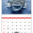 American Armed Forces Spiral Calendar