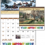 Currier & Ives Spiral Calendar