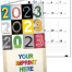 Colorful Impressions Monthly Pocket Planner - NUMBERS