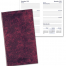 Affordable SEAM Stitched Marble Pocket Planner, Weekly
