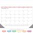 Display-A-Month 12-Sheet Desk Pad Calendar