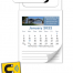 Tradenet MBC Magnetic Real Estate Business Card (Blank/Bulk) Calendar
