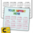 • Laminated Jumbo Business Card Magnet (25mil)
