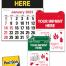Vitronic 14-Month Press-n-Stick™ Calendar