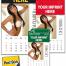 Vitronic Sunshine Girls Press-n-Stick™ Calendar