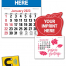 Vitronic 14-Month Magna-Stick™ Calendar