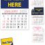 Warwick 13-Month Standard Value Stick™ Calendar