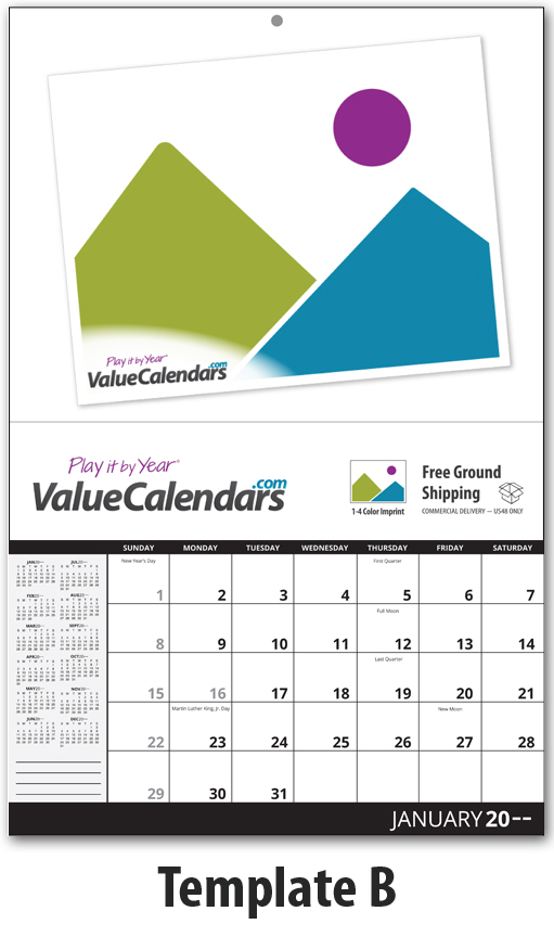 Personalized Photo Calendar Template Militaryalicious