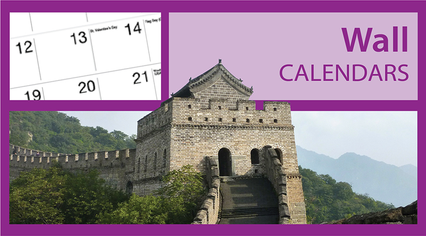Promotional Wall Calendars | Custom Imprinted Wall Calendars for Business