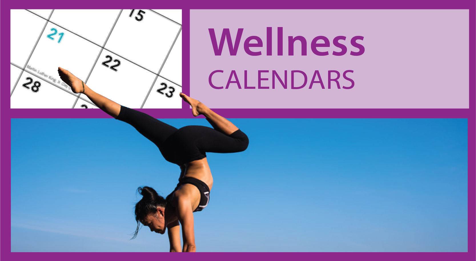 Promotional Wellness Calendars